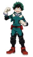 Izuku Midoriya 2nd Costume Full