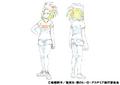 Momo Yaoyorozu Casual Shading TV Animation Design Sheet