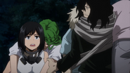 Shota rescues Class 1-B students