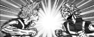 Eijiro vs Tetsutetsu