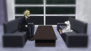 All Might meets with Nezu