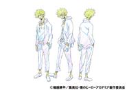 Dabi Anime Concept Art 2
