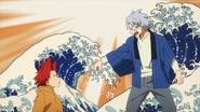 Tetsutetsu encourages Eijiro