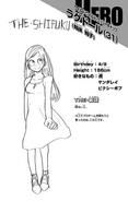 Volume 9 Tomoko Shiretoko Profile