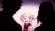 Young Himiko and her parents