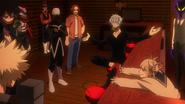 Katsuki and the League of Villains