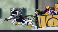 Tenya takes his team to the fire