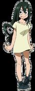 Tsuyu Asui casual