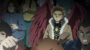 Hawks is concerned about the Paranormal Liberation Army