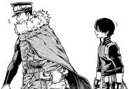 Shoto Todoroki confronts Inasa Yoarashi