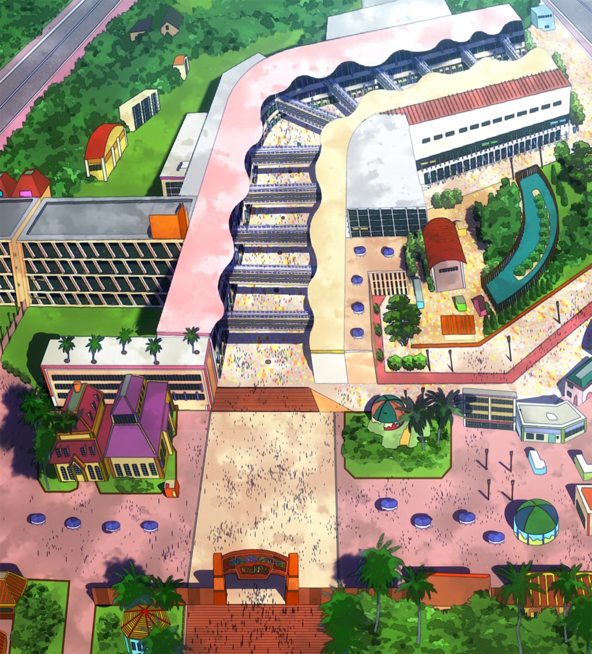 Kiyashi Ward Shopping Mall (Wookiees)