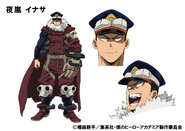 Inasa Yoarashi TV Animation Design Sheet