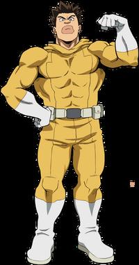 Rikidou Satou Full Body Hero Costume.png