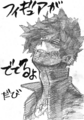 Dabi Thank You Horikoshi Sketch