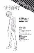 Volume 12 Yo Shindo Profile