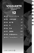 Volume 12 (Vigilantes) Table of Contents