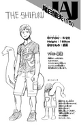 Volume 2 Mashiro Ojiro Profile