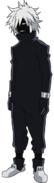 Shihai Kuroiro Hero Costume (Anime)