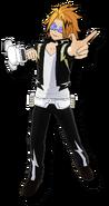 Denki Kaminari One's Justice 2 Design