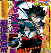 Saison 5 Weekly Shonen Jump 19