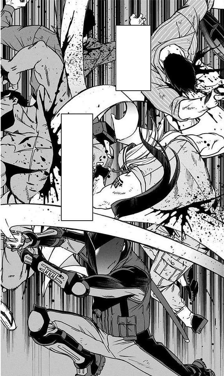 Chizome Akaguro vs. Abegawa Tenchu Kai
