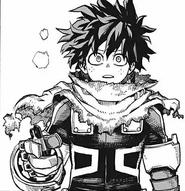 Izuku Midoriya Rogue Hero Costume