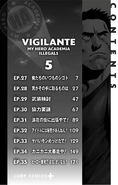 Volume 5 (Vigilantes) Table of Contents