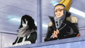Present Mic and Eraserhead announcing