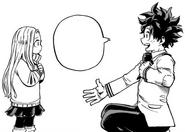 Izuku reminds Eri that she saved him