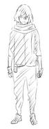 Shota Aizawa disfraz de héroe durante su segundo año en U.A.