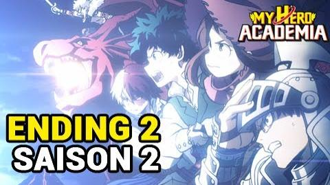 My Hero Academia saison 2 (Boku no Hero Academia 2) - Ending 2 HD