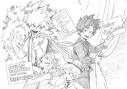 Heroes Rising Opening Day Sketch