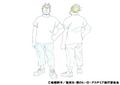 Rikido Sato Casual Shading TV Animation Design Sheet