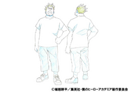 Rikido Sato Casual Shading TV Animation Design Sheet