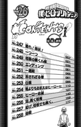 Volume 26 Table of Contents