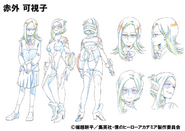 Kashiko Sekigai Shading OVA Animation Design Sheet