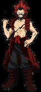 Eijiro Kirishima Traje de héroe