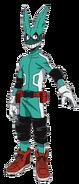 Izuku Midoriya Traje de héroe 1.5