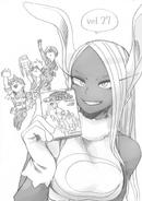 Boceto que anuncia al volumen 27