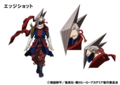 Shinya Kamihara TV Animation Design Sheet