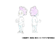 Minoru Mineta Casual Shading TV Animation Design Sheet