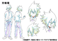 Tamaki Amajiki Shading TV Animation Design Sheet