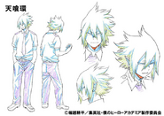 Tamaki Amajiki Shading TV Animation Design Sheet