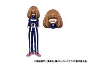 Kinoko Komori TV Animation Design Sheet