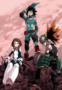 My Hero Academia Color Page from Jump NEXT Vol. 4 2014 (Cleaned)