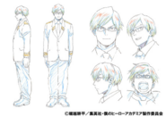 Tenya Ida Shading TV Animation Design Sheet