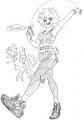 Mina Ashido Sketch