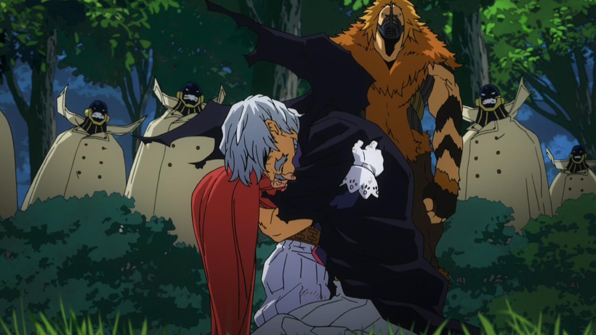 Danjuro Tobita & Manami Aiba surrender (anime).png