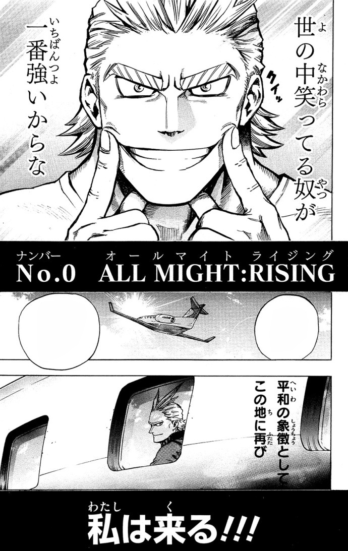 All Might: Rising