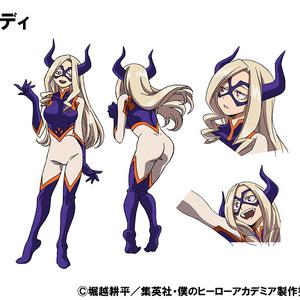 Mt. Lady TV Animation Design Sheet.png